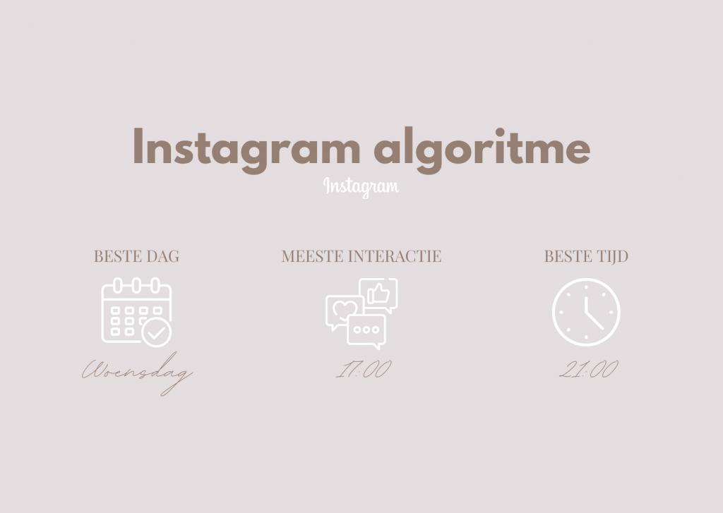 Op welke tijden kan je het beste posten op Instagram?